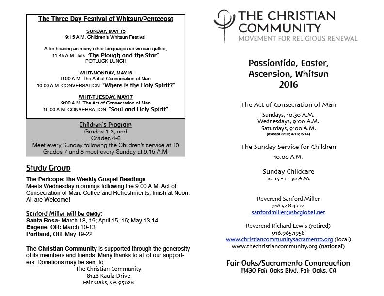 Program Spring 2016 - Page 1