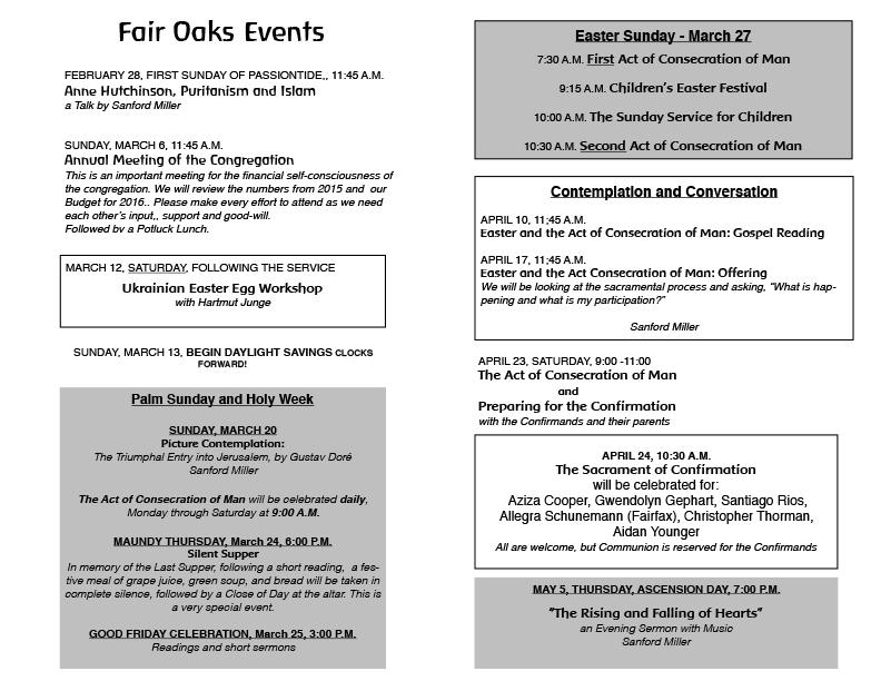 Program Spring 2016 - Page 2